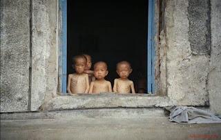 Crianças desnutridas