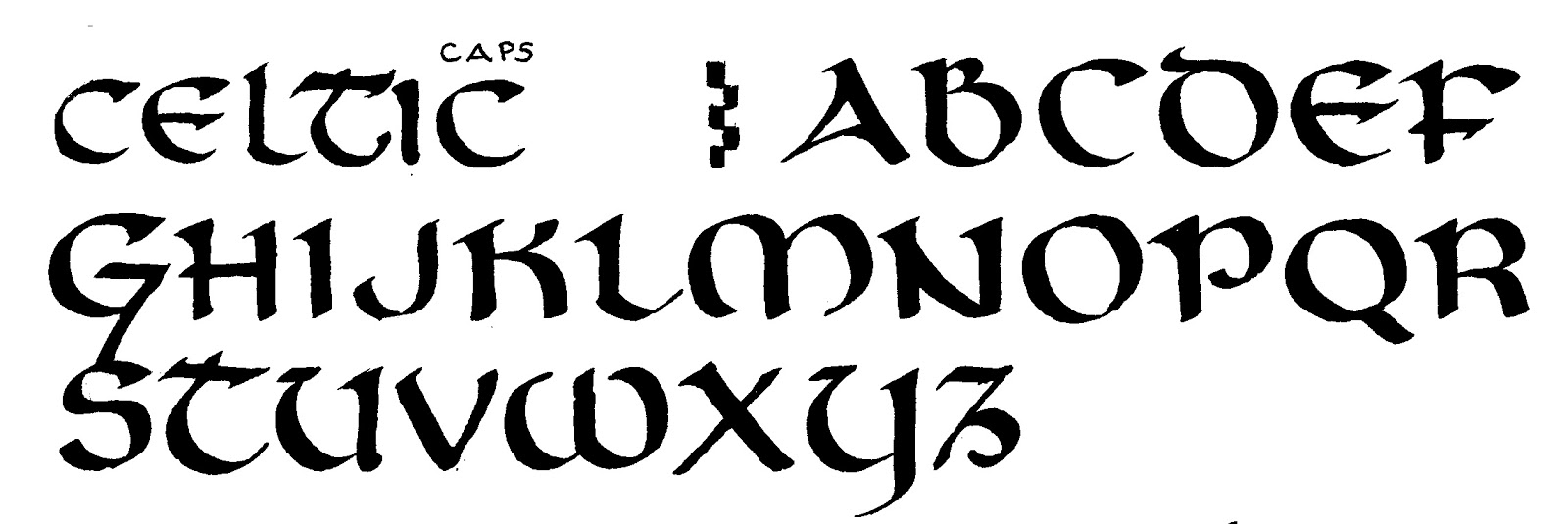 celtic writing Printable celtic gaelic alphabet letter stencils celtic gaelic uncial stencils to print download free a to z celtic stencil templates.