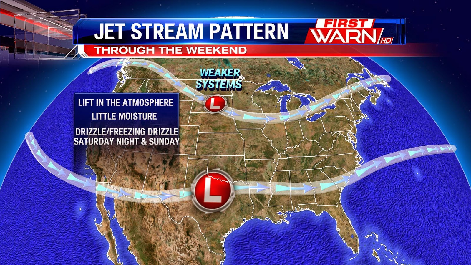First Warn Weather Team December - Us weather map for december