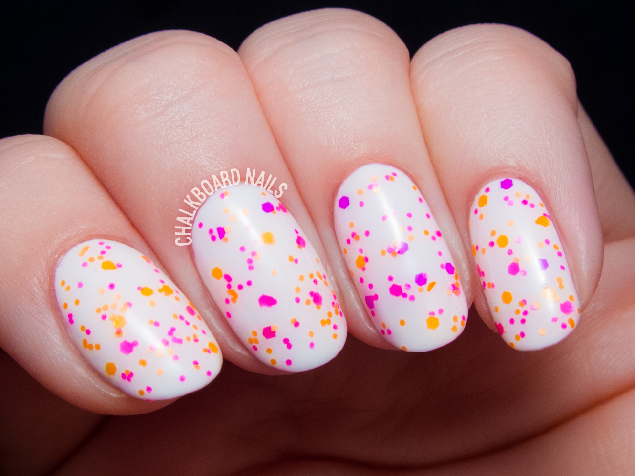 China Glaze Let the Beat Drop via @chalkboardnails