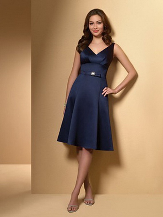 Eleagnt Blue Bridesmaid Dresses Bridal Wedding Dresses