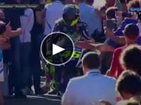 Video Sambutan Untuk Rossi Lebih Meriah Ketimbang Lorenzo