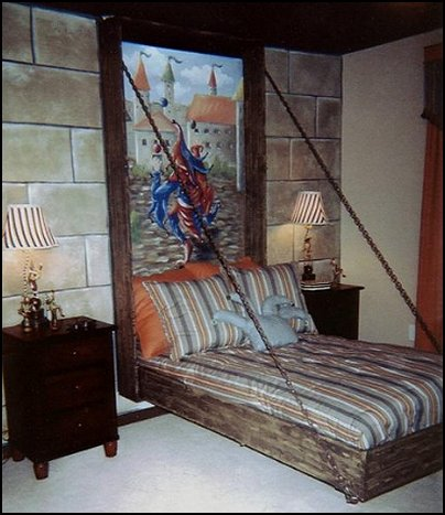 Decorating theme bedrooms maries manor medieval knights for Castle bedroom ideas
