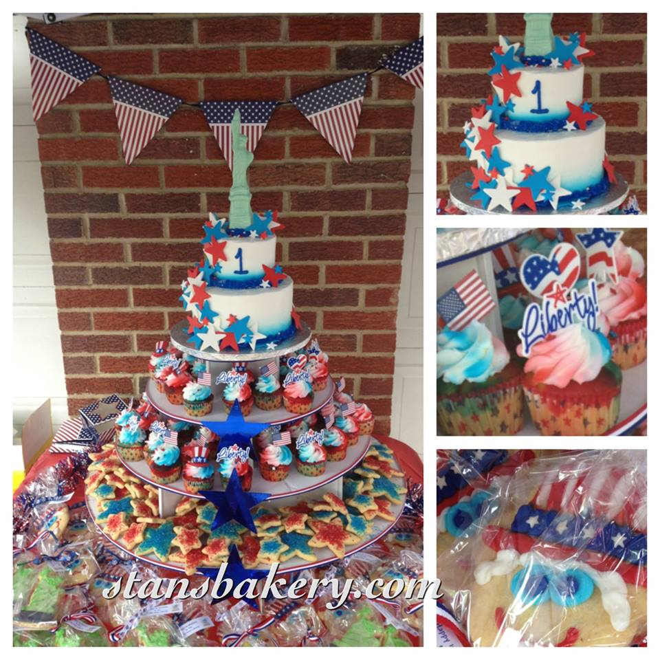 Leslies Cool Cakes From Stans Northfield Bakery Red White And