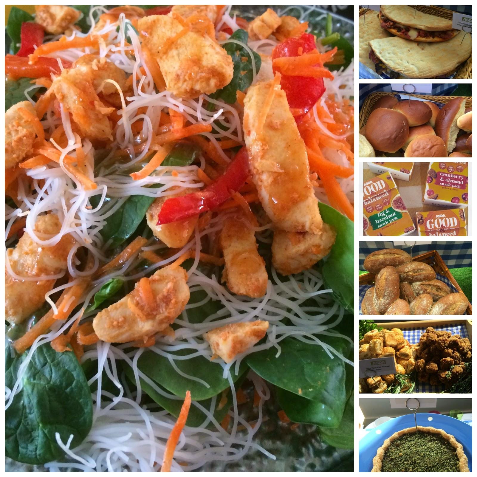 summer picnic and barbecue food from Asda #asdaspringsummer