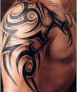 coolest tribal arm on strong arm tattoos