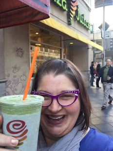 Jamba Juice, Matcha Green Tea Smoothie, Denver CO 2016