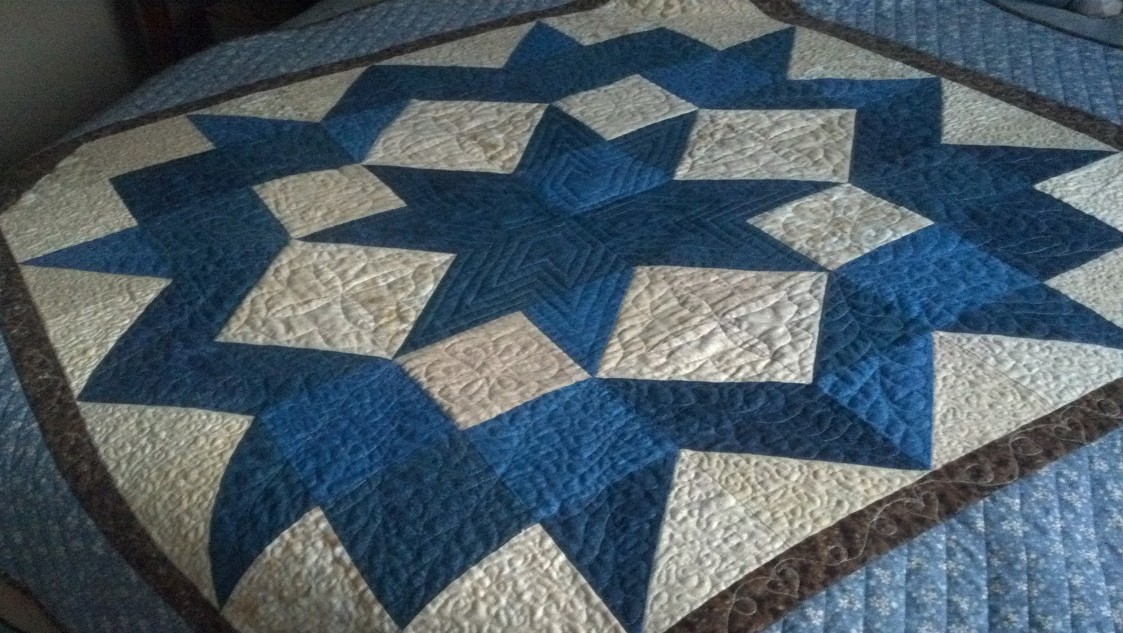 Moonbear Longarm Quilting Carpenter Star Quilts