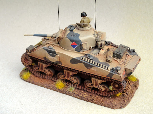 28mm, 1/56th, 1:56, Sherman V, SA Field Artillery,South African 6th Armoured Division, Italian Campaign, 1944, Warlord Games