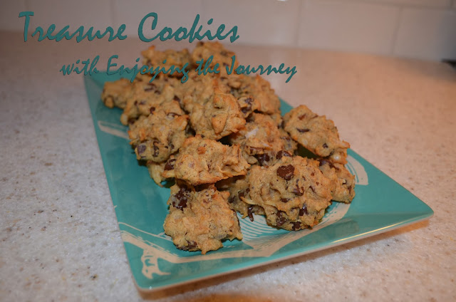 Chocolate Chip Treasure Cookies from Enjoying the Journey