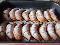Cornuri cu gem preparare reteta la cuptor