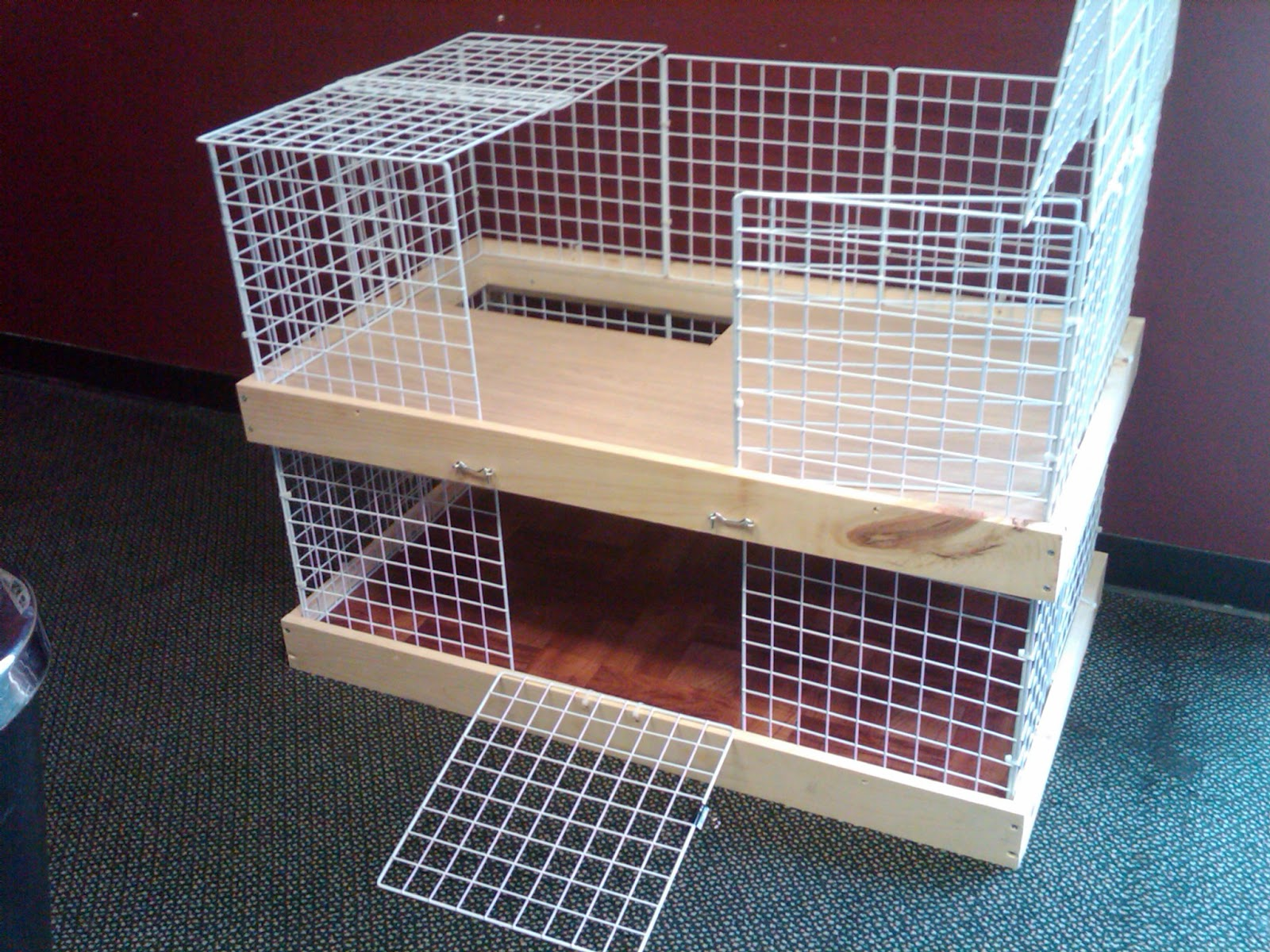 Wire Rabbit Cages Bunny care. cages and hutches