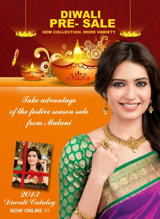Diwali Pre-Sale at Malani Jewelers