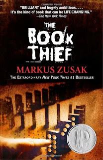 bookcover of The Book Thief by Markus Zusak
