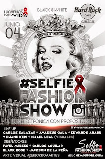 fundacion luchemos por la vida selfie fashion show hard rock cafe