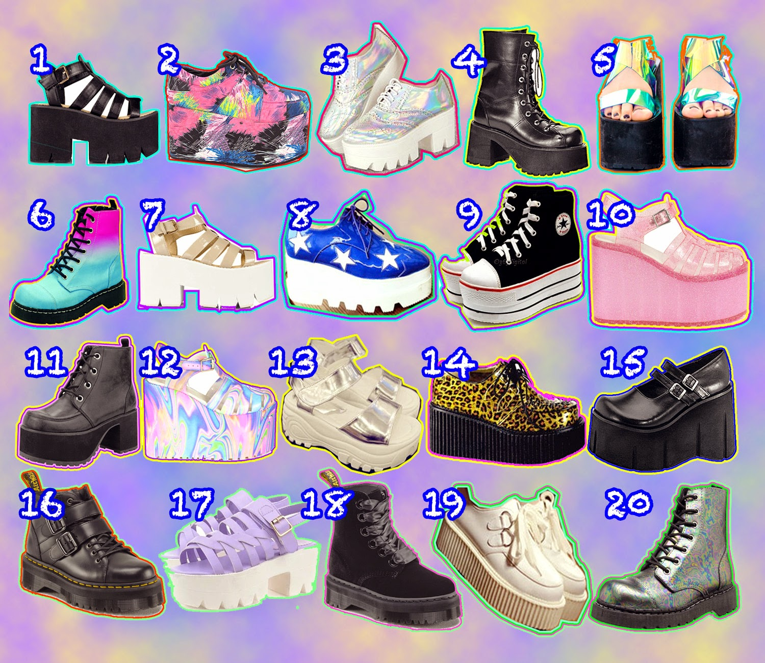 CLUMPY SHOE WISHLIST