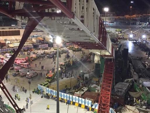 Insiden kren tumbang di Makkah, Jurutera dan pengurus projek bertanggungjawab