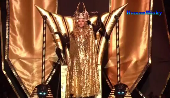 Madonna vidéo live Super Bowl