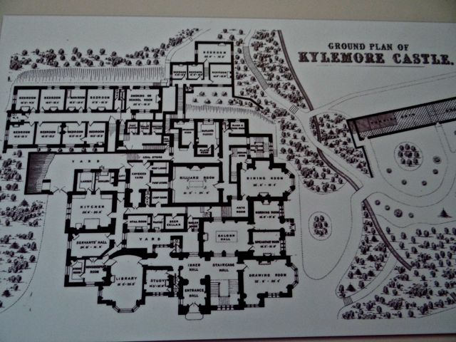 from iowa to ireland day 10 sep 12 kilbrack house On floor design kylemore