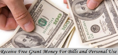 Receive Free Grant Money For Bills and Personal Use