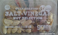 Graze Salt & Vinegar nut selection snack