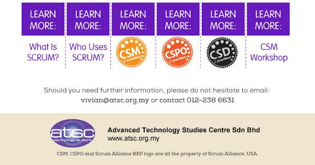 Scrum related certification banner