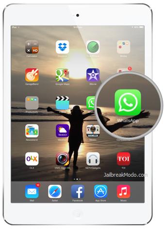 Cara Download WhatsApp untuk iPad 5