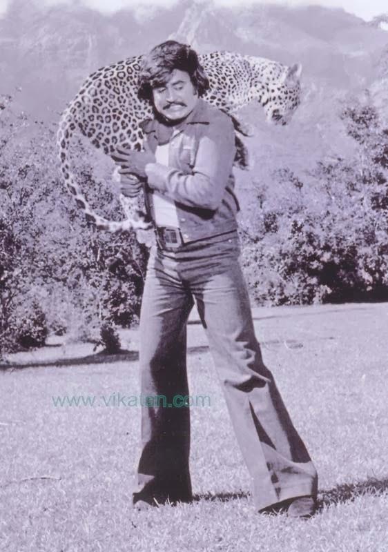 'Thalaivar' Rajinikanth in 'Annai Oor Aalayam' Movie