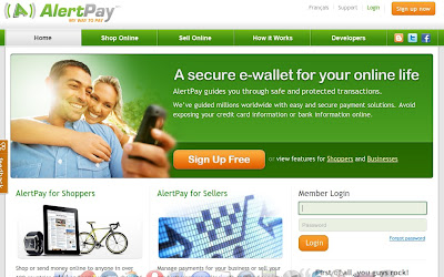 Earn With Alertpay Affiliate Program