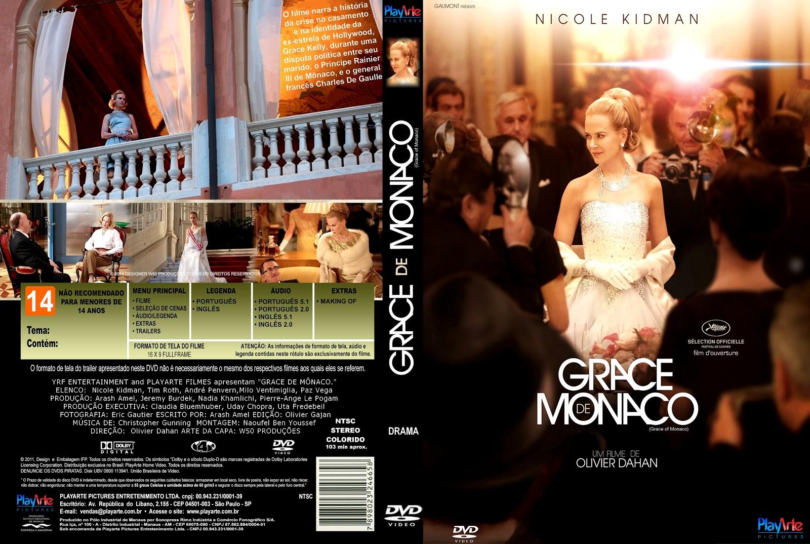 Capa DVD Grace De Monaco