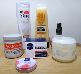 Supermarket must have skincare