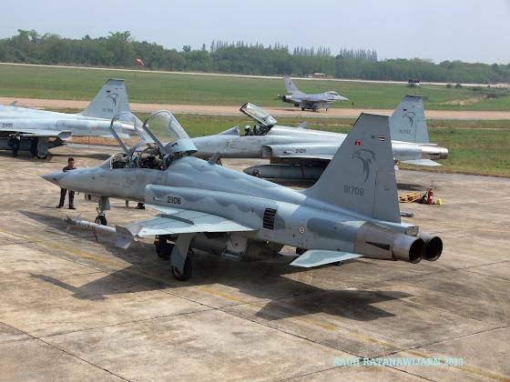 RTAF F-5E/F
