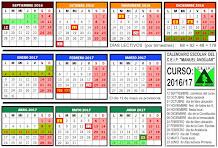 Calendario 16/17