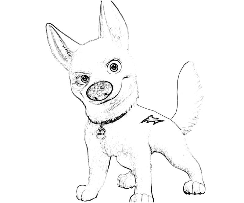 Disney Bolt Coloring Pages To Print