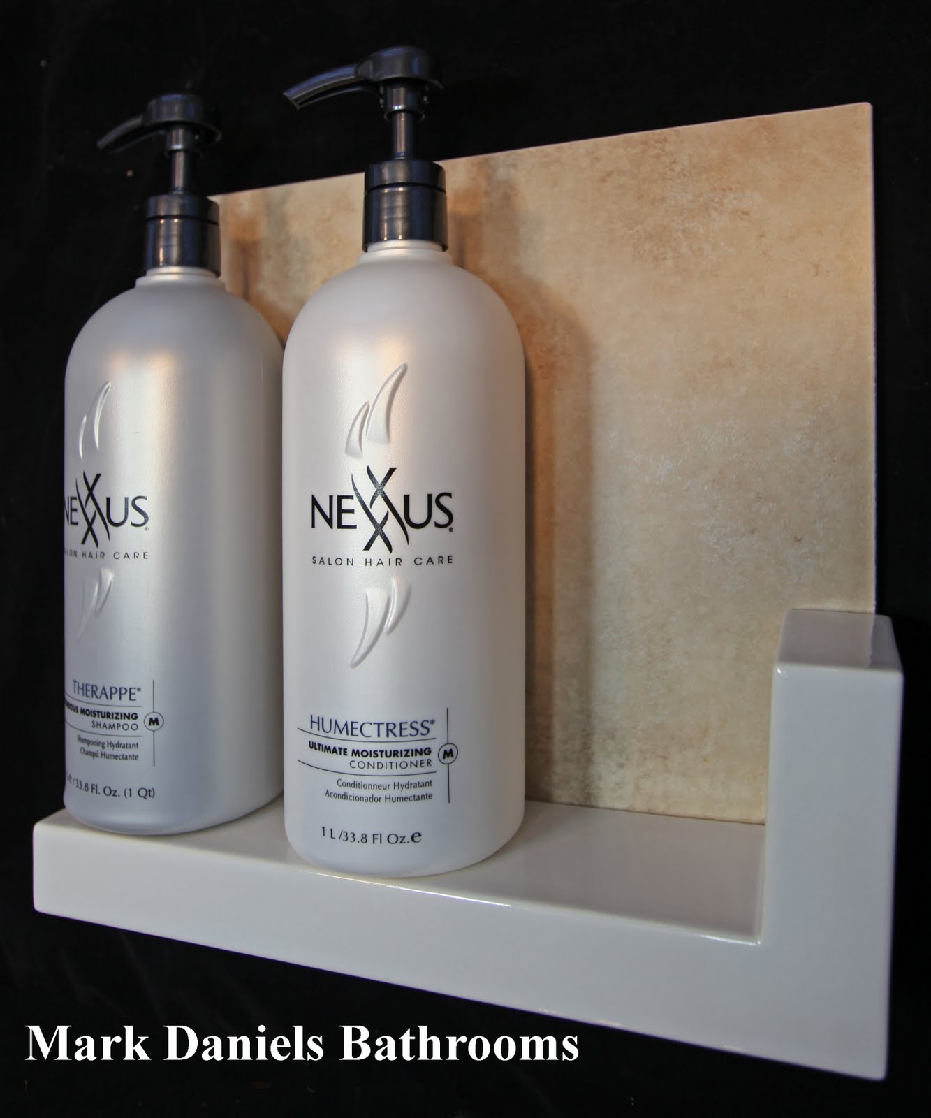 Bathroom Tile Shower Shelf Ideas