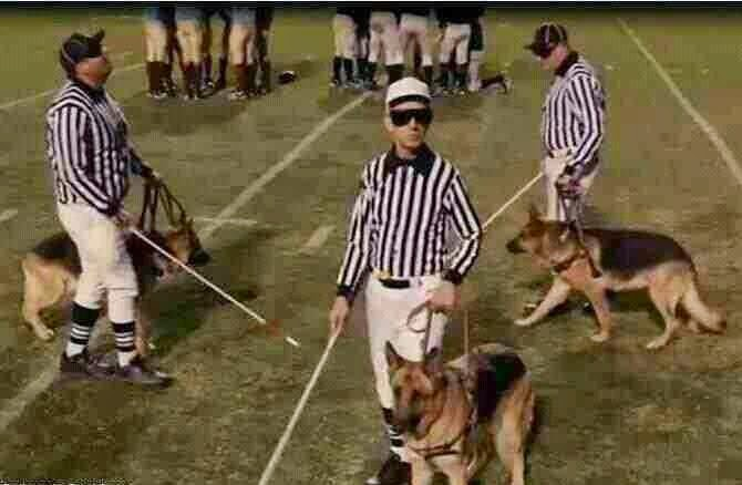 blind referees