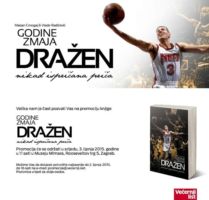 «Τα χρόνια του Δράκου»-Βιβλίο για τον αείμνηστο Ντράζεν Πέτροβιτς