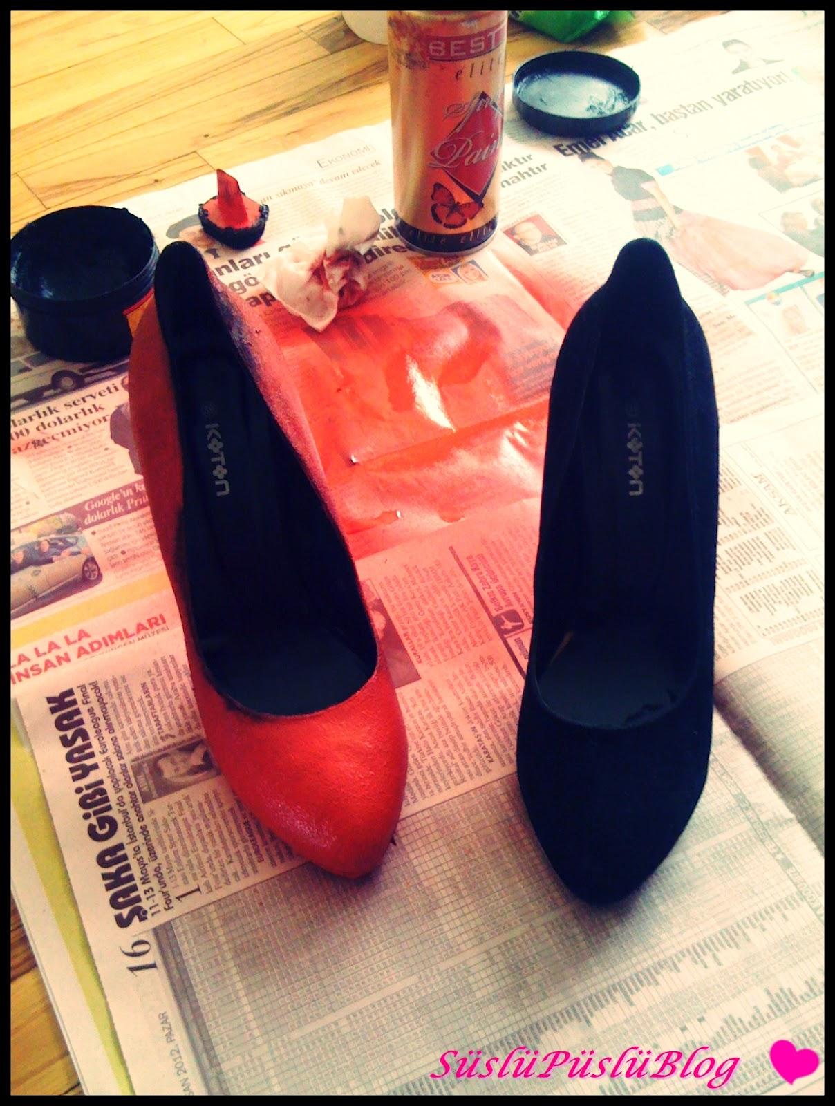 Süet Ayakkabı Boyanır mı