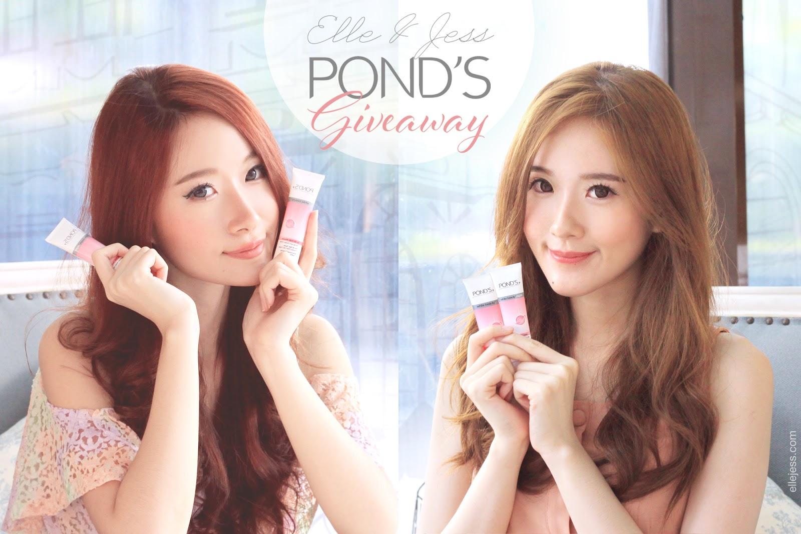 Ponds Giveaway Elle And Jess Bloglovin Extri Jam Tangan Pria X3001a Hitam Hello Hai Its Time
