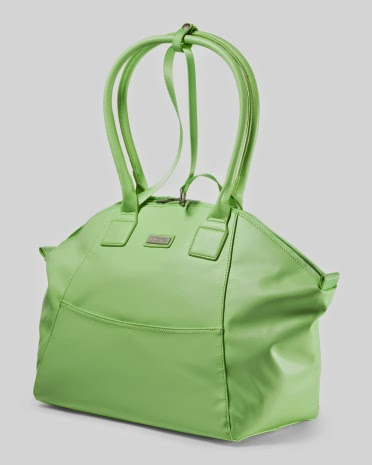 Style Athletics Lime Green Apana Workout Gym Bag