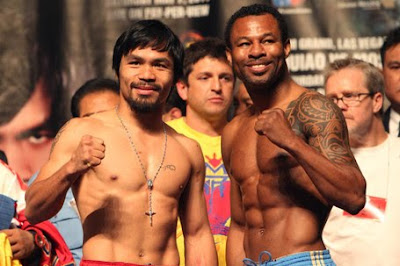 Pacquia-Mosley weigh-ins