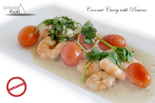 Coconut Curry with Prawns ~ Simple Food