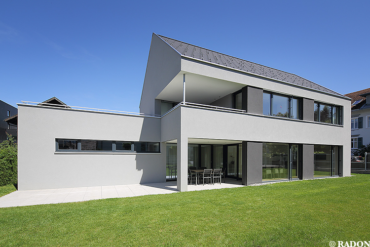 Radon photography norman radon haus v for Moderne ha user mit satteldach