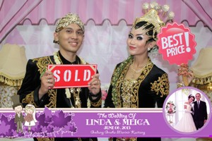 sewa photo booth wedding jakarta