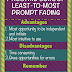 Pros and Cons of Least-To-Most Prompt Fading