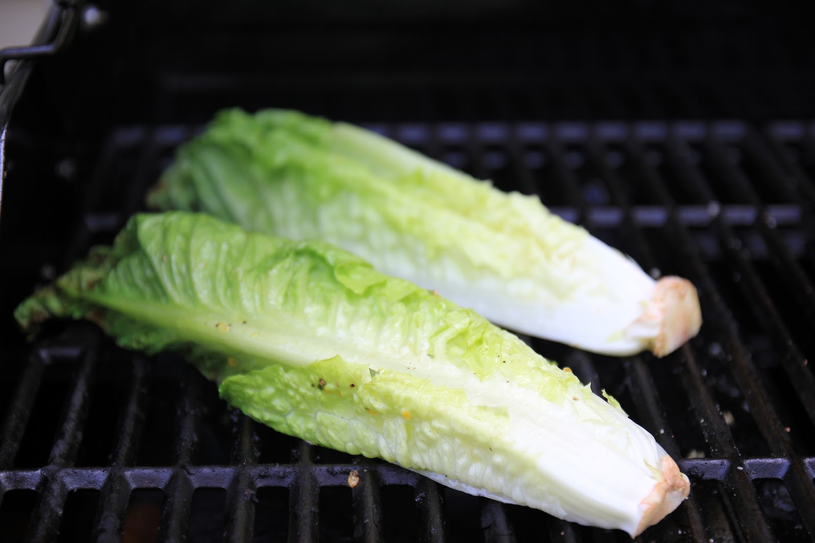 Jenny Steffens Hobick: Grilled Romaine Lettuce | Summer Grilling