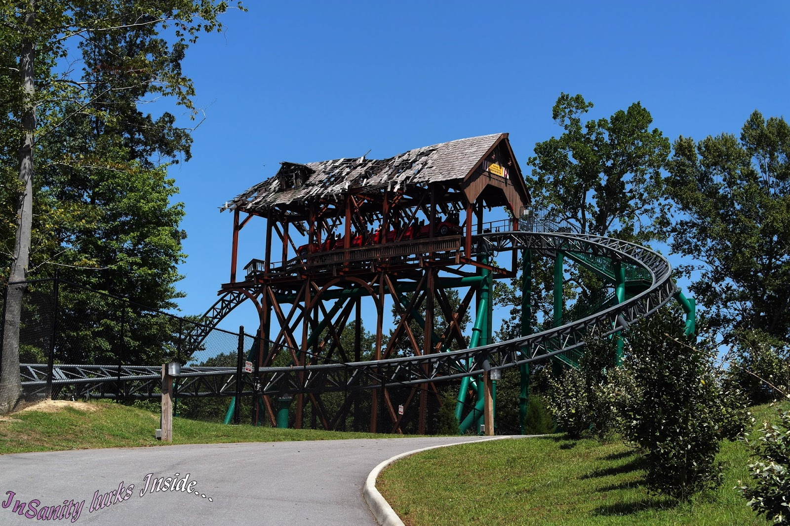 Insanity Lurks Inside Photo Post Ultimate Roller Coaster Tour Of Busch Gardens Williamsburg