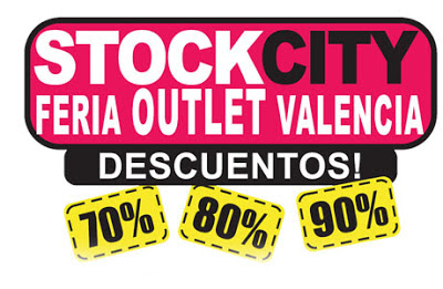 feria del outlet valencia 2012. Stock city valencia 2012