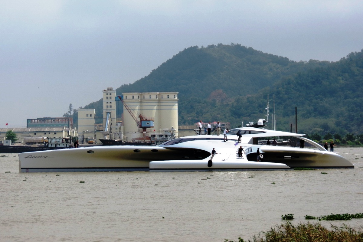 Adastra Yacht Trimaran 4