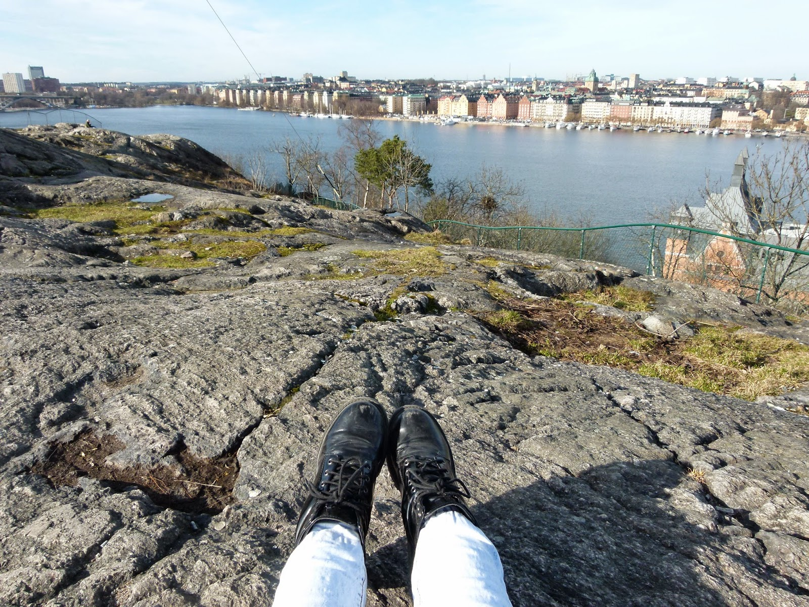 best viewpoints in stockholm skinnarviksberget